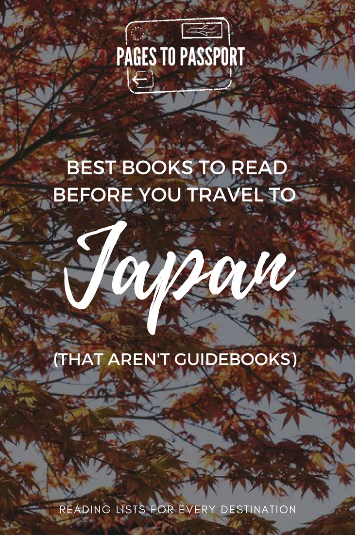 Best books to read before you travel to Japan (that aren't guidebooks) | Best Books About Japan to Read Before You Go | Best Japan Travel Books | Best Travel Books Japan
