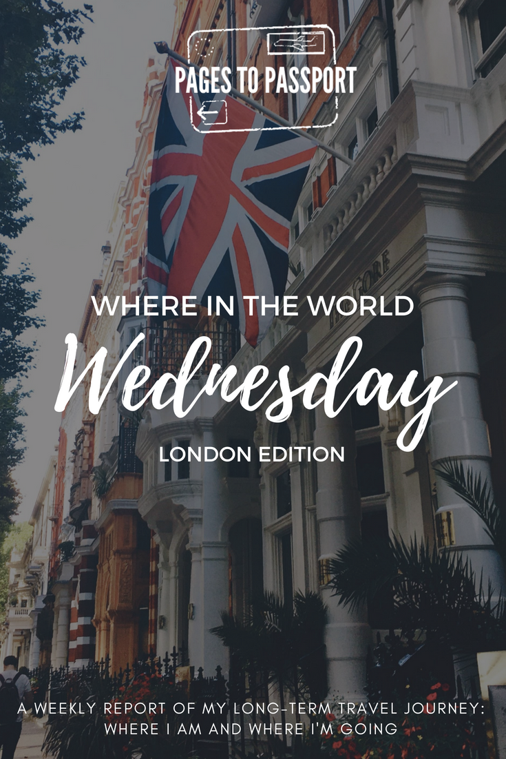 Where in the World Wednesday | A weekly report on my long-term travel, where I'm going, what I'm doing, and what I'm currently reading