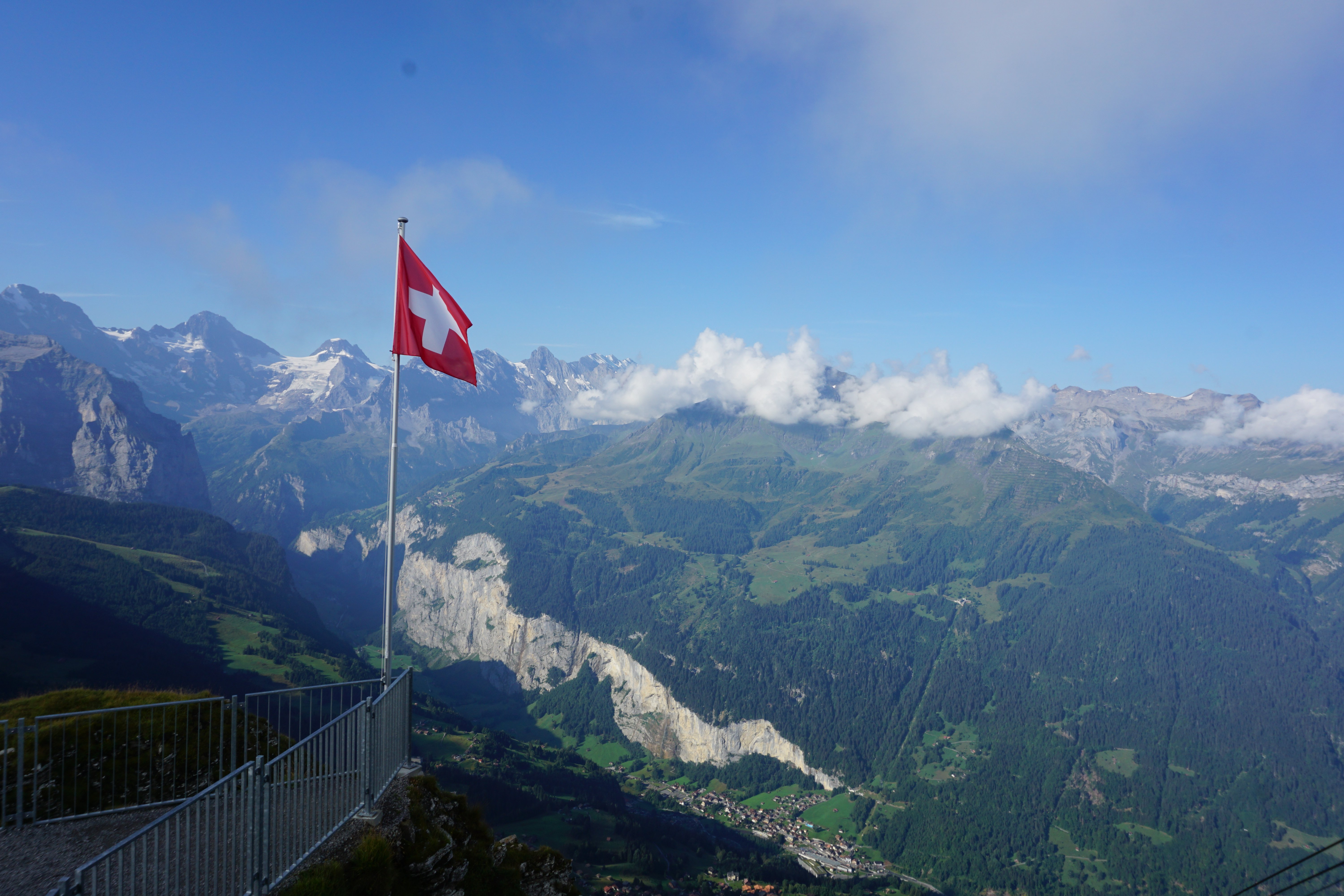 Where in the World Wednesday Switzerland Edition | Weekly travel updates from a bookworm on the move | Mannlichen Cable Car Switzerland