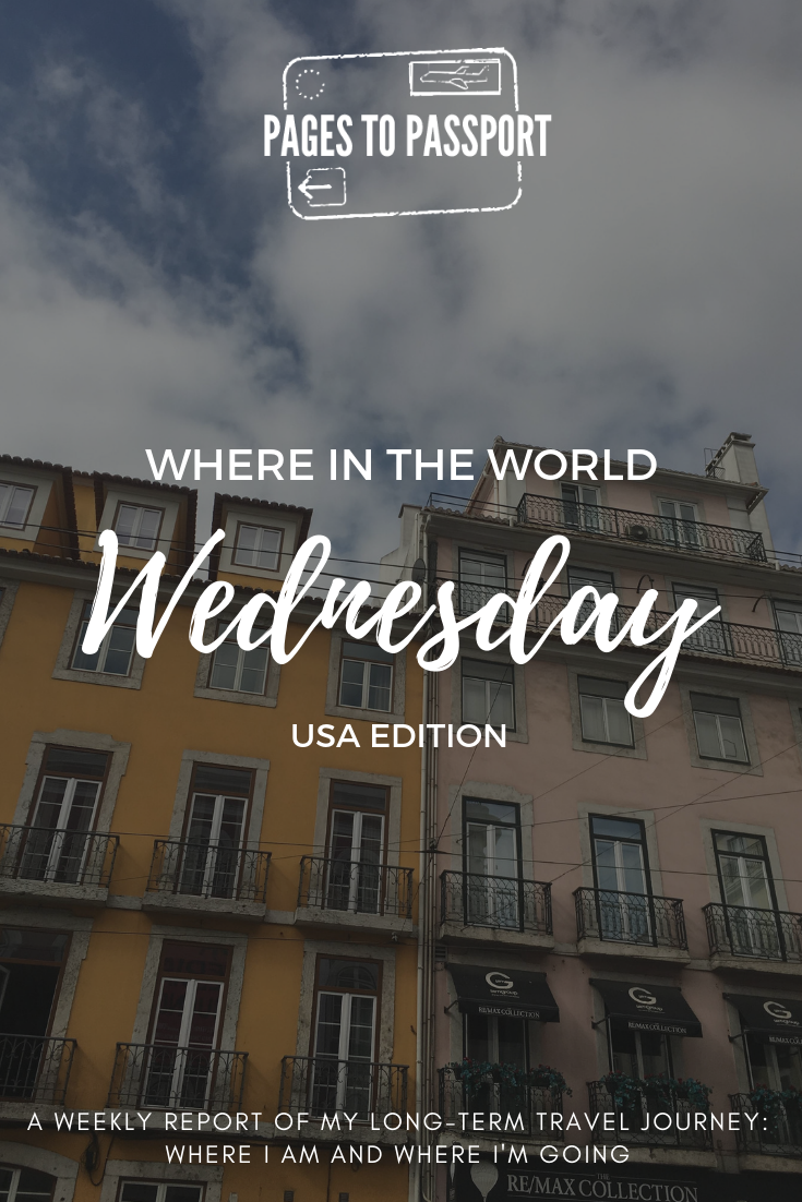 Pages to Passport | Weekly Travel Report | Where in the World Wednesday | Long Term Travel Report