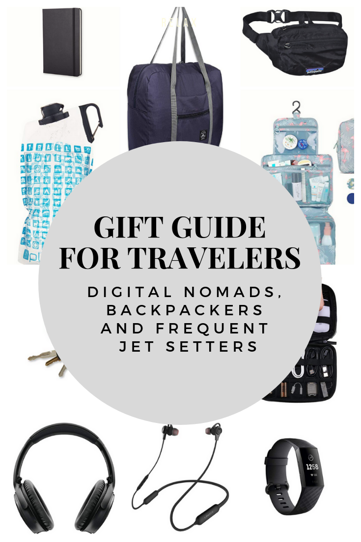 Gift ideas for travelers | Best gifts for travelers | What to buy travelers for christmas | Travel gifts | Gifts for backpackers | Gifts for digital nomads | Gifts for minimalists | Gift ideas for minimalists | Gift ideas for full time travelers | Gift ideas for frequent travelers | Travel essentials | Best gifts for backpackers | Best small gifts | Stocking Stuffers for Travelers