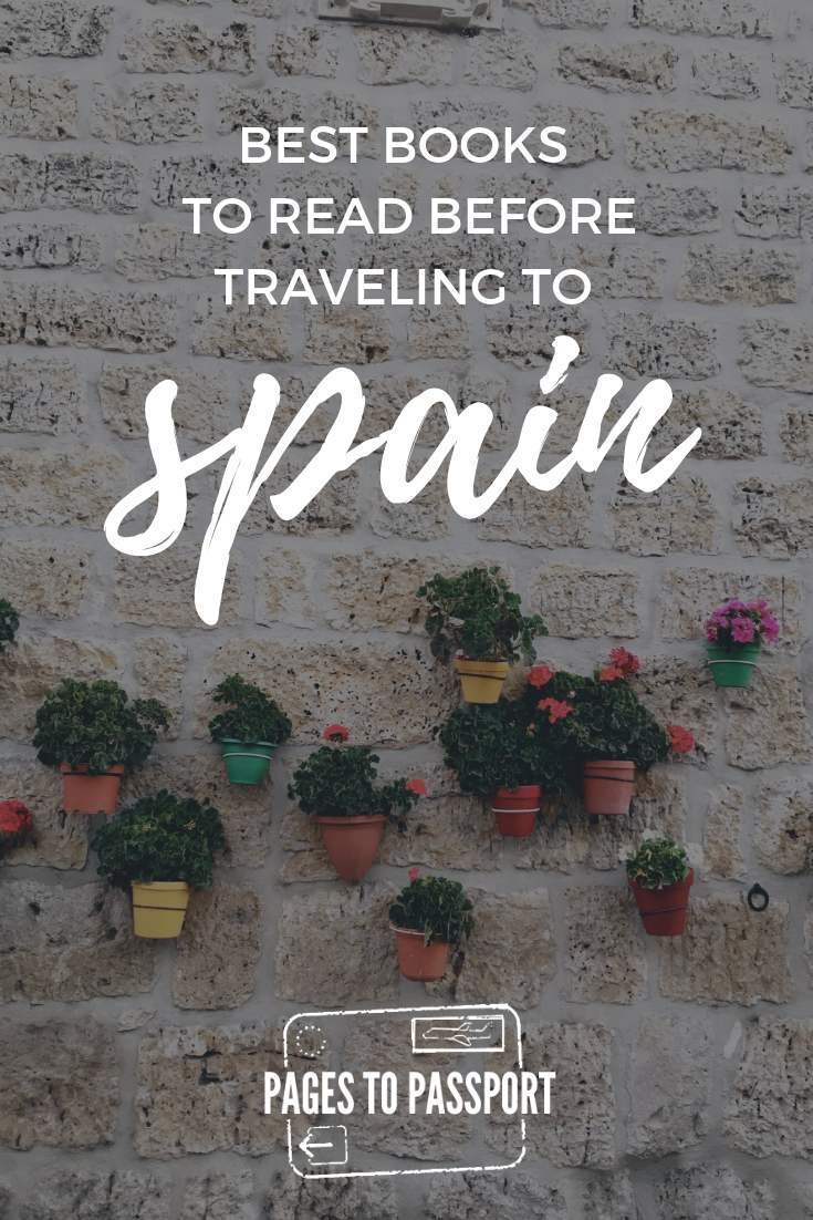 Best books set in Spain | Best Spanish Books | Best Spanish Novels | Best Books to Read Spain Travel | Books about Traveling Spain | Spanish Guidebooks | What to Read Before Going to Spain | Good Books About Spain
